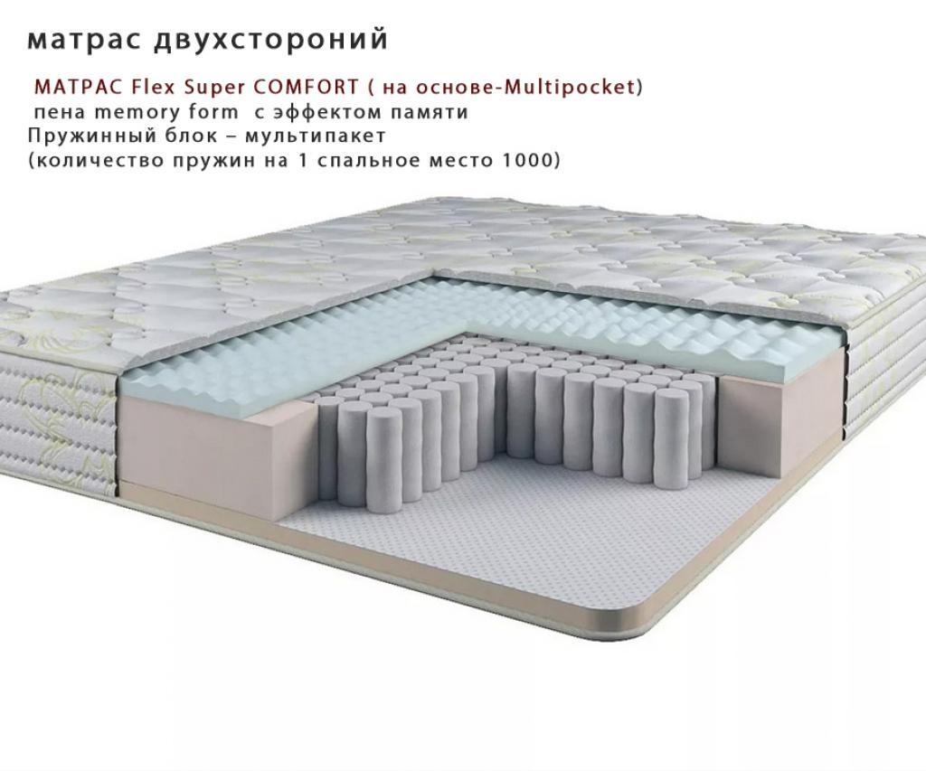 МАТРАС MODERN Flex Super COMFORT (Multipocket)